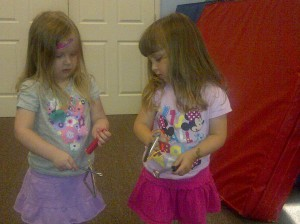 music bonding at a Music Together Class